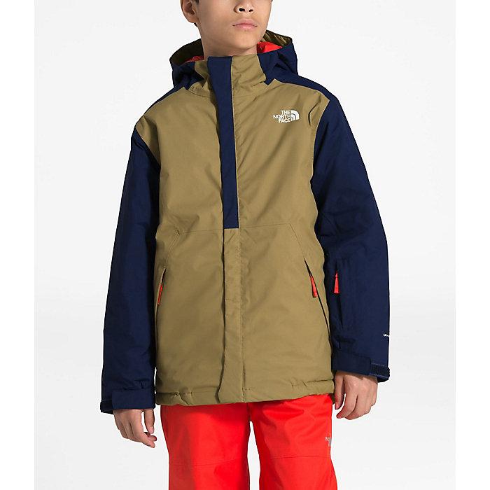 54bc349941aad The North Face Boys' Brayden Insulated Jacket - Moosejaw