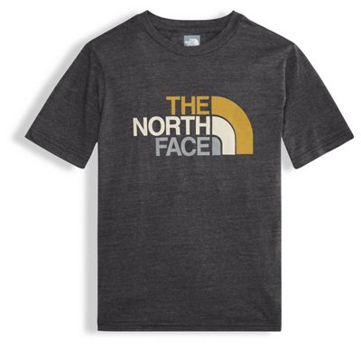 The North Face Boys' Tri-Blend Half Dome SS Tee