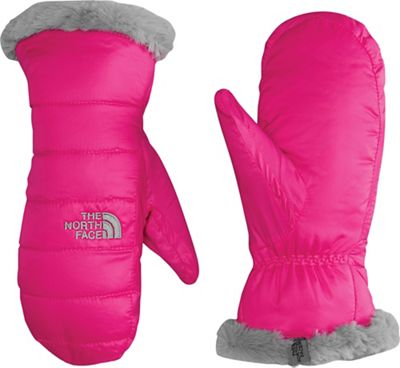 The North Face Girls' Reversible Mossbud Swirl Mitt