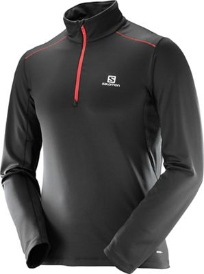 Salomon Men's Agile Warm Half Zip Mid Top