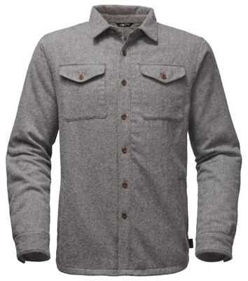 Mens the north face shirts moosejaw the north face mens cabin fever wool shirt sciox Images
