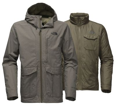 The North Face Men's Cross Boroughs Triclimate Jacket