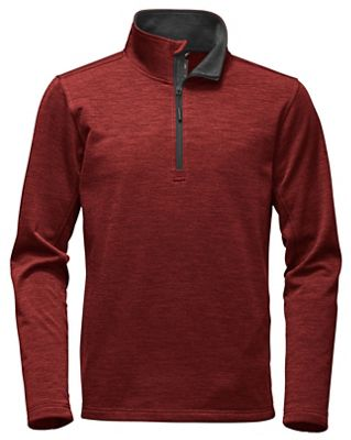 The North Face Men's FlashDry Wool 1/4 Zip Top