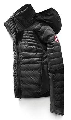 black canada goose jacket