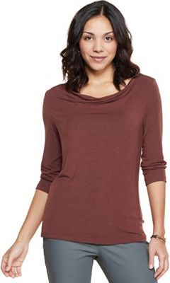 Toad & Co Women's Bel Canto 3/4 Drape Neck Top