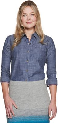 Toad & Co Women's Chambray Slub LS Shirt