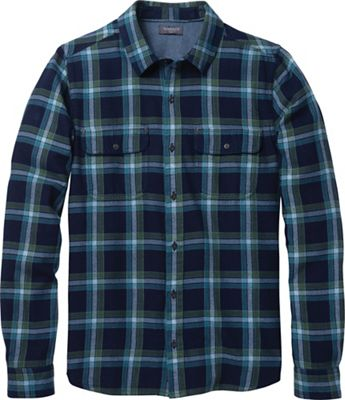 Toad & Co Men's Indigo Flannel Slim LS Shirt