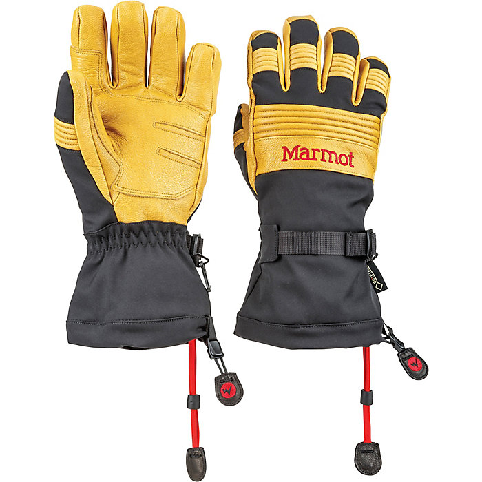 Marmot Fleece Glove Running and Hiking Gloves Water Repellent and Windproof