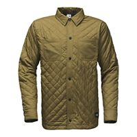 Deals on The North Face Men's Fort Point Insulated Flannel Jacket