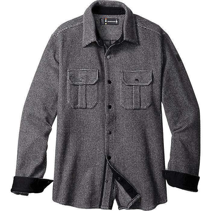 3fbb0f222250 Smartwool Men's Anchor Line Herringbone Shirt Jacket - Moosejaw