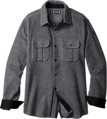 Smartwool Men's Anchor Line Herringbone Shirt Jacket
