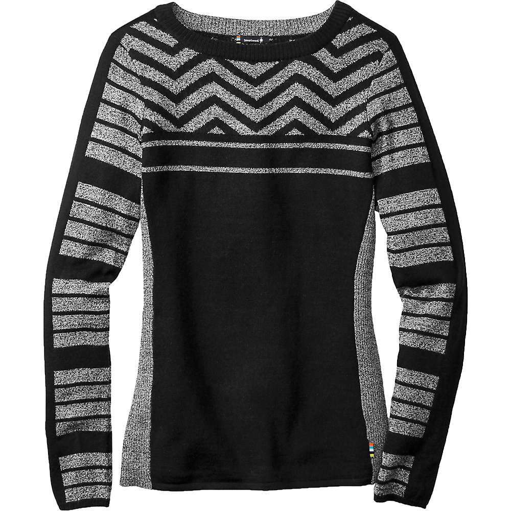Smartwool Women S Dacono Ski Crew Sweater At Moosejaw Com