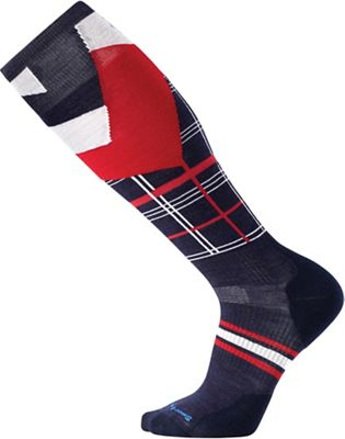 Smartwool PhD Slopestyle Light Elite Plaid Sock