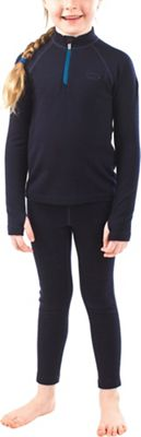 Icebreaker Kids' Compass LS Half Zip Top