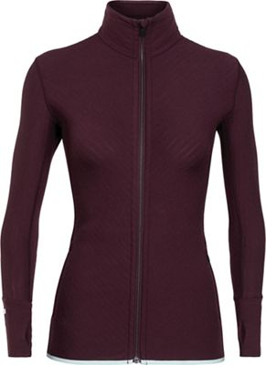 Icebreaker Women's Descender LS Zip Top