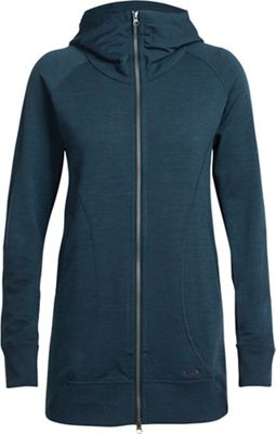 Icebreaker Women's Dia Long Hooded Jacket