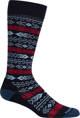 Icebreaker Women's LifeStyle Over The Calf Light Cushion Tree Sock