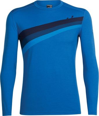 Icebreaker Men's Oasis LS Ascent Stripe