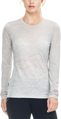 Icebreaker Women's Tech Lite MTN Threads LS Crewe