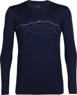 Icebreaker Men's Tech Lite Toughest Triple LS Crewe