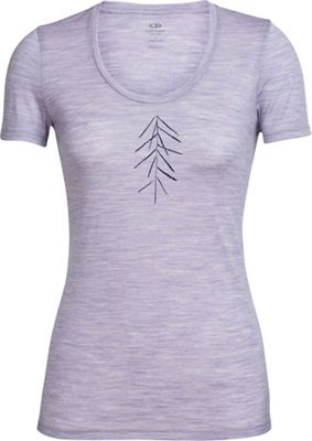 Icebreaker Women's Tech Lite Lancewood SS Scoop Top