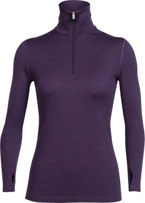 Icebreaker Women's Tech Top LS Half Zip Top