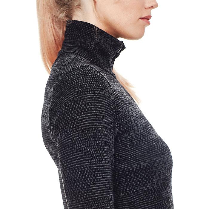 46d015ee17e Icebreaker Women's Vertex LS Half Zip Flurry Top - Moosejaw