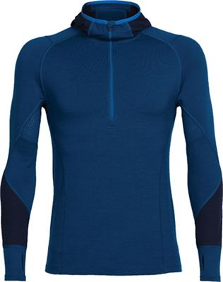 Icebreaker Men's Winter Zone LS Half Zip Hoody