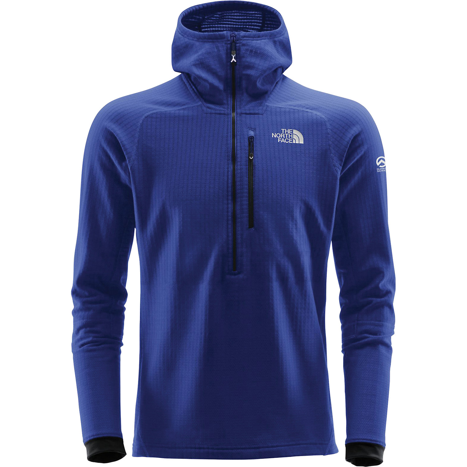 0e2dfd221 The North Face Summit Series Men's L2 FuseForm Grid Fleece 1/2 Zip Hoodie