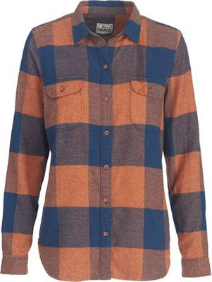 Woolrich Women's Eco Rich Twisted Rich Flannel Shirt