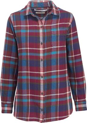 Woolrich Women's Oxbow Bend Eco Rich Boyfriend Shirt