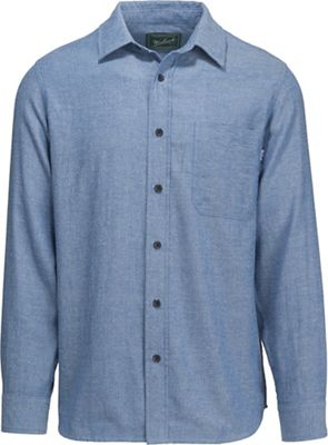 Woolrich Men's Stone Rapids Eco Rich Solid Modern Shirt
