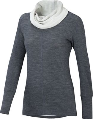 Ibex Women's Dyad Cowl Neck Top