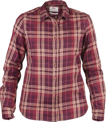 Fjallraven Women's Ovik Flannel LS Shirt