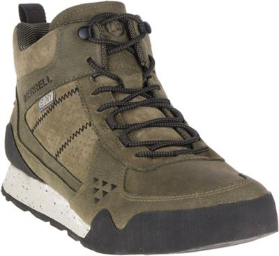 Merrell Men's Burnt Rock Mid Waterproof Boot