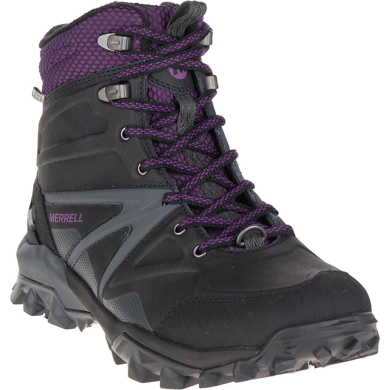 4121caf56e5 Merrell Women's Capra Glacial Ice+ Mid Waterproof Boot