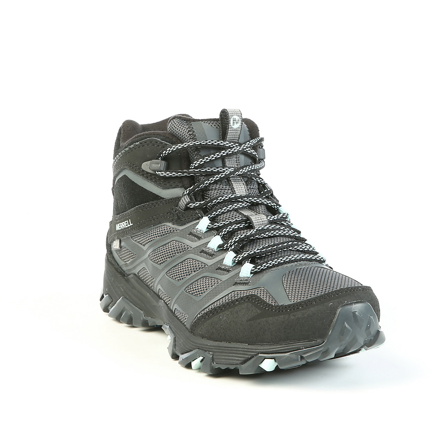 Thermo High Rise Hiking Boots Merrell Womens Moab FST Ice