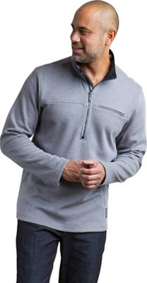 ExOfficio Men's Caminetto 1/4 Zip Neck LS Pullover