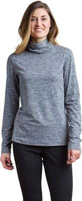 ExOfficio Women's Wanderlux Marl Turtleneck Top