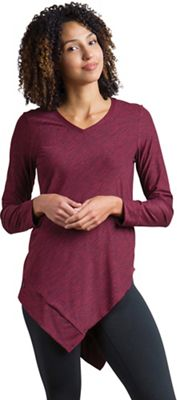 ExOfficio Women's Wanderlux  Marl V Neck Tunic
