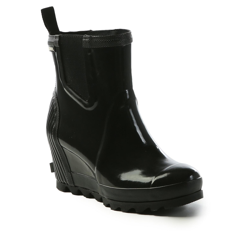 ad005126f1b Sorel Women s Joan Rain Wedge Chelsea Gloss Boot - Moosejaw
