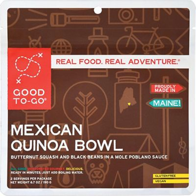 Good To-Go Gluten Free Mexican Quinoa Bowl - Double Serving