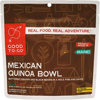 Good To-Go Mexican Quinoa Bowl Gluten Free - Single Serving