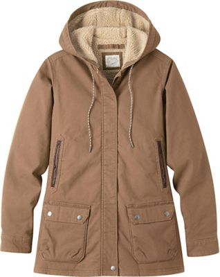 Mountain Khakis Women's Ranch Shearling Hooded Jacket
