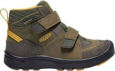Keen Kid's Hikeport Mid Strap Waterproof Shoe