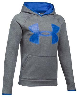 Under Armour Boys' UA Armour Fleece Big Logo Hoodie