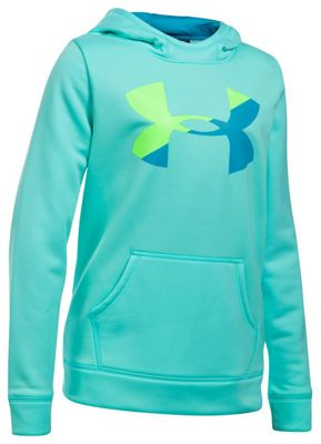 Under Armour Girls' UA Armour Fleece Big Logo Hoody