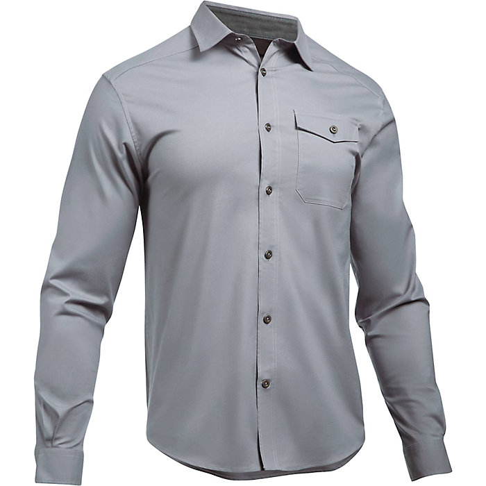 fc549a1a Under Armour Men's UA Cascade Chambray Flannel Shirt - Moosejaw