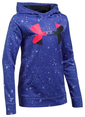 Under Armour Girls' UA Novelty AF Big Logo Hoody