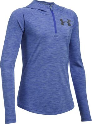 Under Armour Girls' UA Tech Novelty 1/4 Zip Hoody